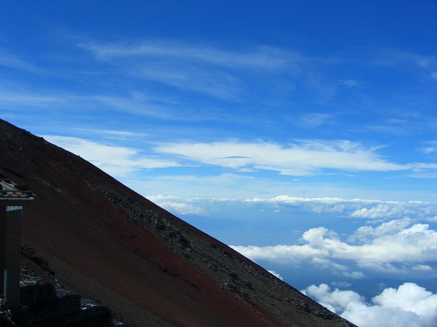 絶景! 絶景! 富士登山・・のちに世界文化遺産に登録・・体験すればこそ